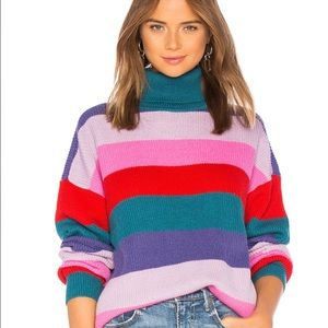 *NWT* Lovers + Friends Marianne Stripe Sweater